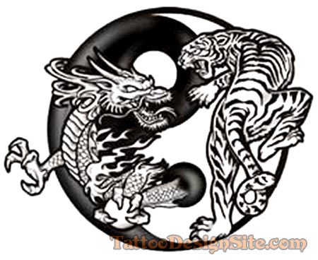 Dragon Tiger Tattoos